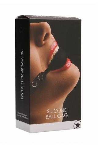 Кляп-шарик Silicone Ball Gag Ouch! фото