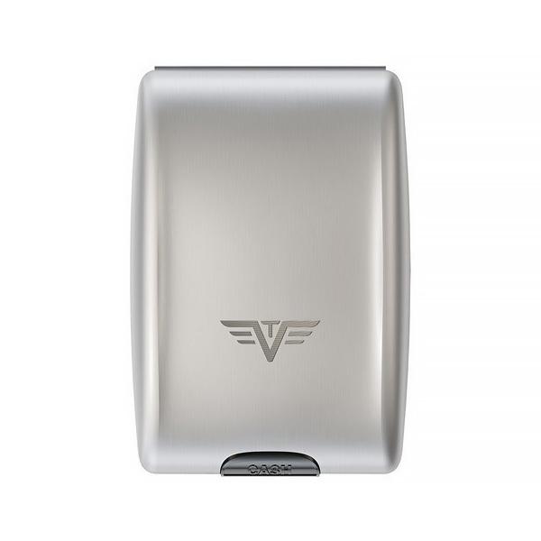 Кошелек c защитой Tru Virtu OYSTER, цвет серебристый , 102*70*27 мм