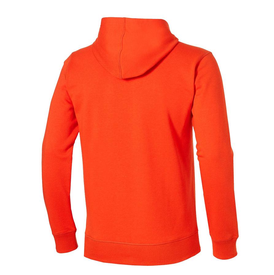 Спортивная детская толстовка Asics Boys Hoodie 130910 0540 оранжевая