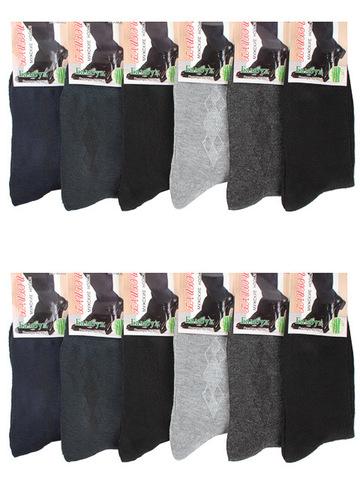M302 носки мужские 42-48 (12 шт.)  цветные
