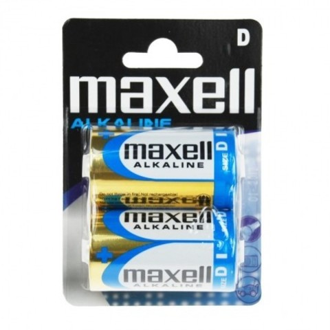 Батарейки Maxell Alkaline LR20, D (2/24) BL
