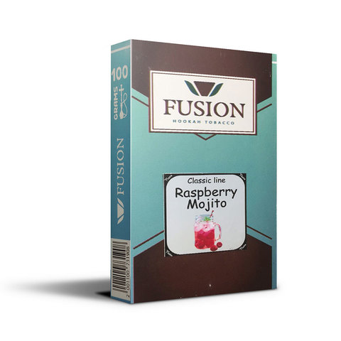 Табак Fusion Medium Raspberry Mojito 100 г