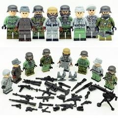 Минифигурки Военных Спецназ серия 296
