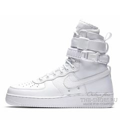 Кроссовки мужские Nike Air Force SF Urban All White