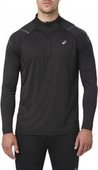 Рубашка беговая Asics Icon LS 1/2 Zip Black мужская
