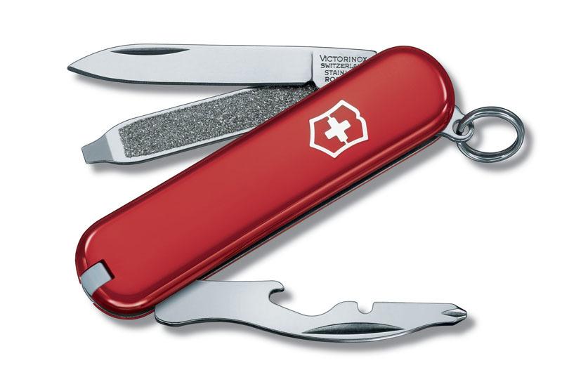Нож-брелок VICTORINOX Rally 58 мм 9 функций красный VC6163