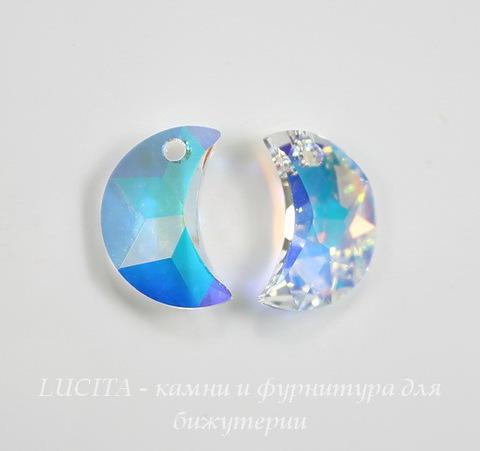 6722 Подвеска Сваровски Moon Crystal AB (правая)(20 мм)