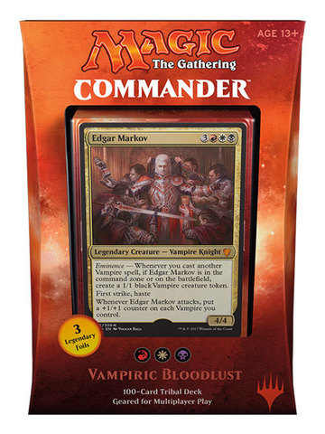 Commander 2017: Vampiric Bloodlust (WBR) английский