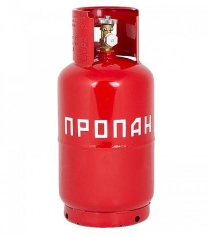 Газовый баллон металлический 12л (Беларусь)