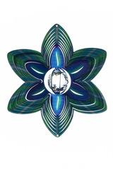 Ветряной спиннер Цветок с кристаллом 25см (Iron Stop)