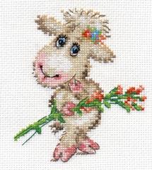 Набор для вышивания Алиса Милая овечка