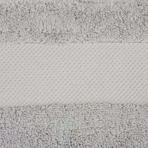 Полотенце 40х30 Hamam Waterside серебро