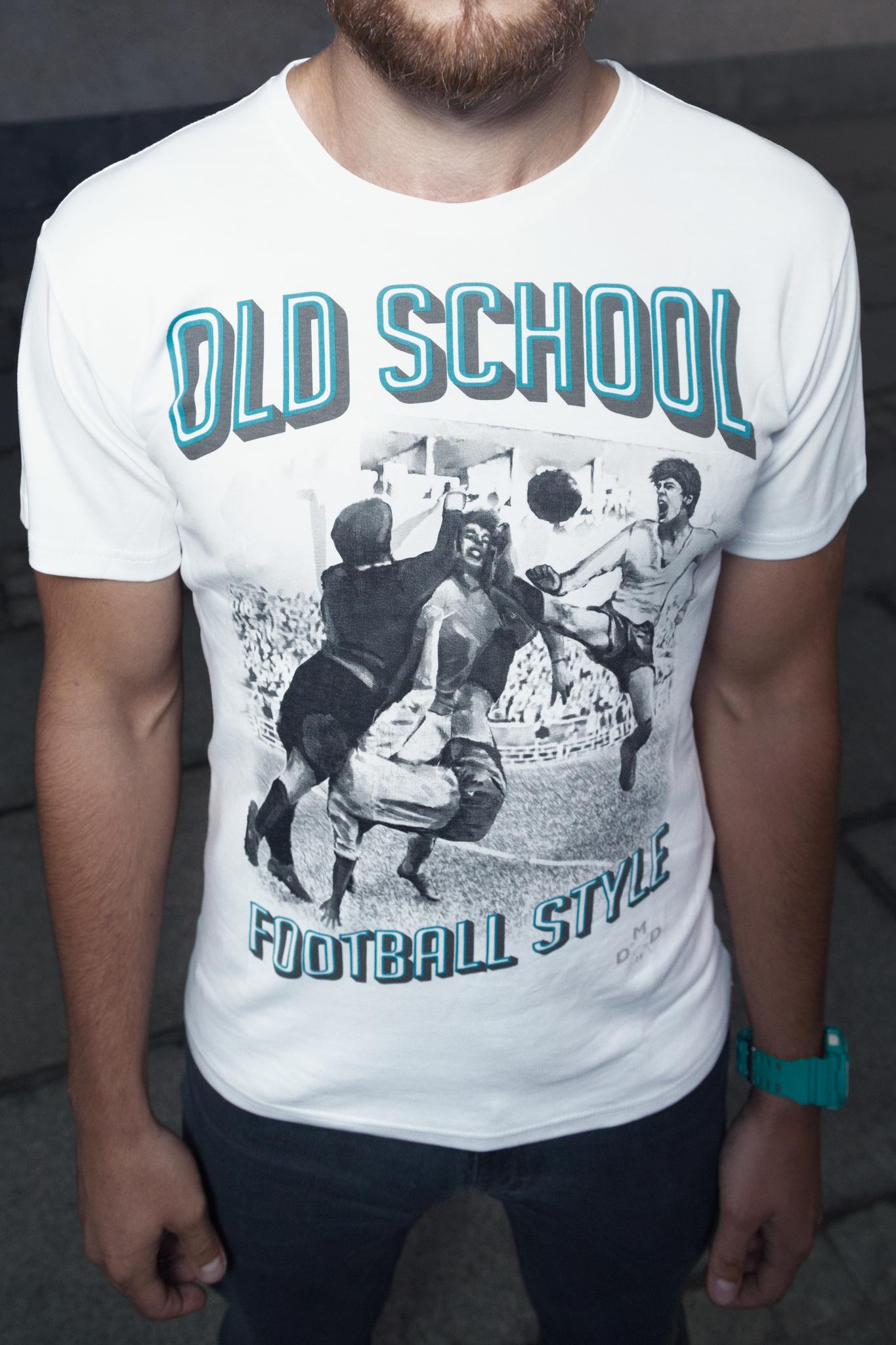 Футболка Old school football style