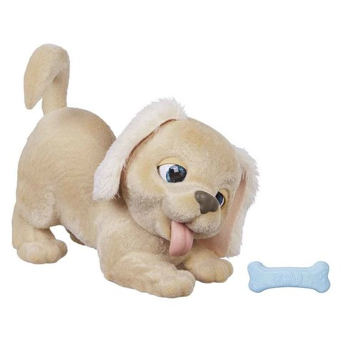 Игривый щенок Голди