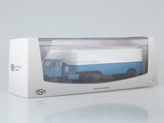 MAZ-200V with semitrailer MAZ-5217 blue-white 1:43 Start Scale Models (SSM)