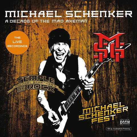 Inakustik LP, Schenker Michael: A Decade Of The Mad Axeman (Live Recordings), 01691587
