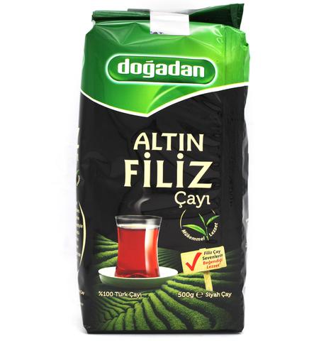 Турецкий черный чай Altin Filiz, Dogadan, 500 г