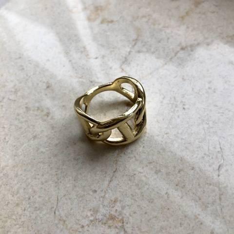 Кольцо Рамти, позолота