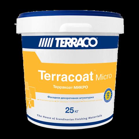 Terraco Terracoat Micro G/Террако Терракоат Микро G декоративное покрытие на акриловой основе с  мелкой текстурой типа «шагрень»