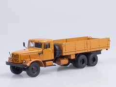 KRAZ-257 B1 board orange AutoHistory 1:43