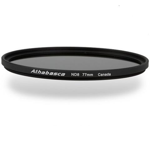 Нейтрально-серый фильтр Athabasca Wide Band ND8 на 77mm