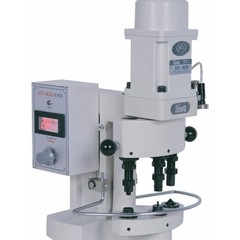 Фото: Пресс для установки фурнитуры трехпозиционный электромагнитный DZN-3