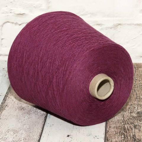 Смесовка с кашемиром LINSIEME BATIK 1/15 фиолетовый