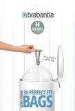 Мешки для мусора PerfectFit, размер H (50-60 л), упаковка-диспенсер, 30 шт., арт. 375705 - превью 1