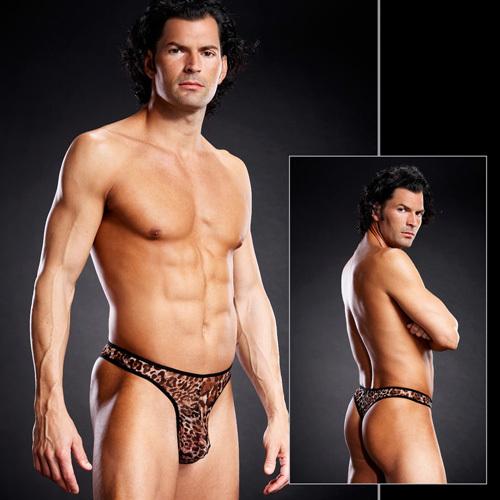 Мужское белье: Мужские танга из сеточки