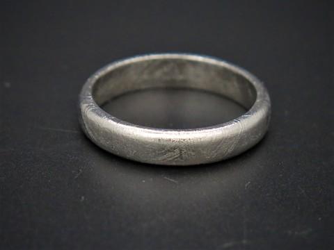 Кольцо из метеорита Муонионалуста. Размер 20.5