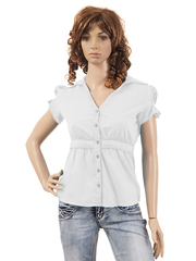 103308 блузка женская, белая