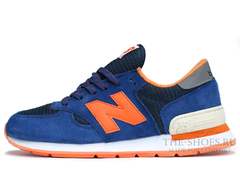 Кроссовки Мужские New Balance 990 Blue Orange White