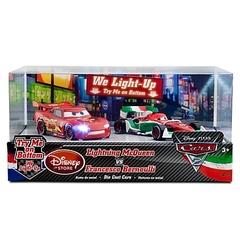 Cars 2 Light-Up - Lightning McQueen vs. Francesco Bernoulli