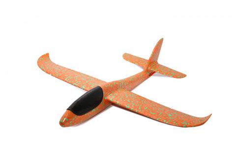 Метательный планер самолет ТУ 134 сделан из экструдированного пеноп...