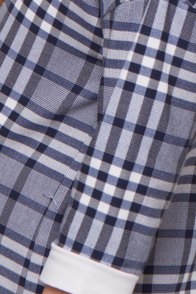 Платье 07754 серый