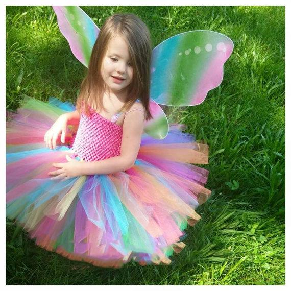 Бабочка платье пачка для девочки