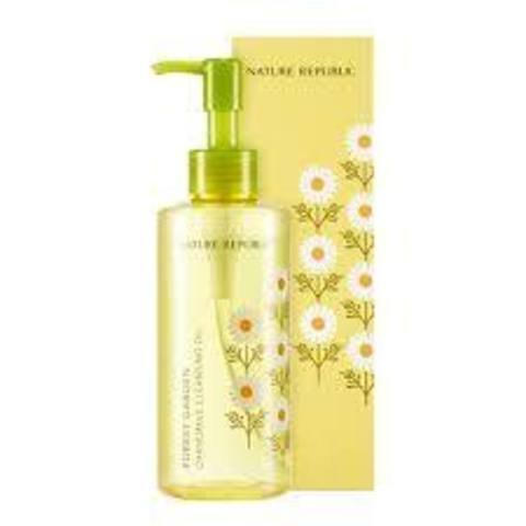 NATURE REPUBLIC CLEAN Масло гидрофильное FOREST GARDEN CHAMOMILE CLEANSING OIL 200мл
