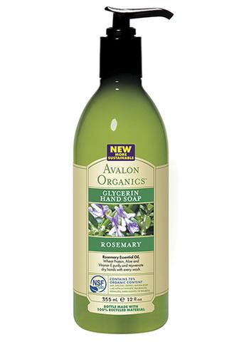 Глицериновое мыло для рук с маслом розмарина, Avalon Organics