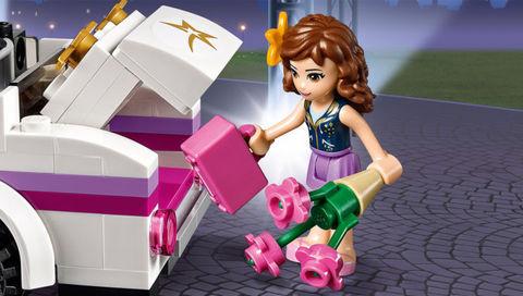 LEGO Friends: Поп звезда: Лимузин 41107 — Pop Star Limousine — Лего Френдз Друзья Подружки