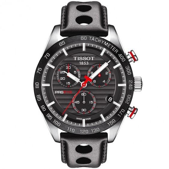 cd1a9521 Купить Мужские швейцарские наручные часы Tissot T-Sport PRS 516  T100.417.16.051.00 ...