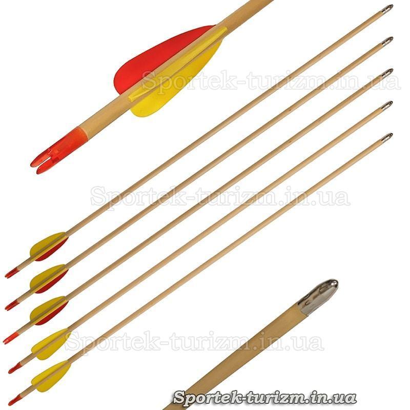 Стрела деревянная для лука Man Kung MK-W30 (30 дюймов)