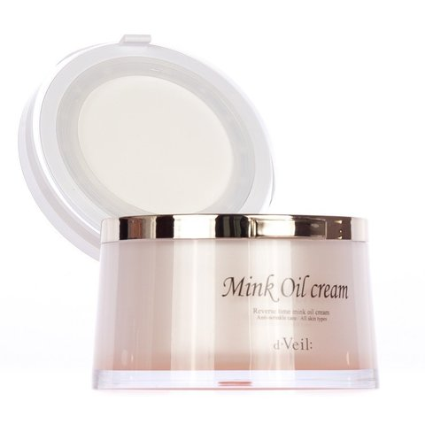 Крем с норковым маслом LadyKin D'Veil Reverse Time Mink Oil Cream 50ml.