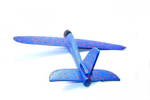 Метательный планер самолет ту134 сделан из экструдированного пенопо...