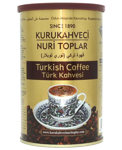 Турецкий кофе молотый, Nuri Toplar Turkish, 500 г