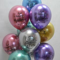 воздушные шары хром