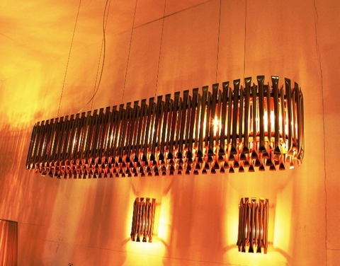 replica  Delightfull MATHENY_CHANDELIER  ( oval + copper )