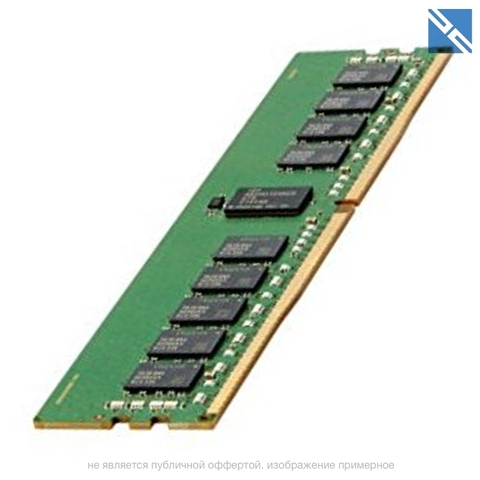 Оперативная память HP 851353-B21 8Gb (1x8Gb) Single Rank DDR4-2400 CAS-17-17-17 Registered Standard Memory N9P8DM6 тип