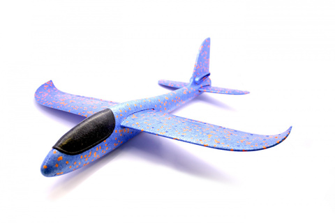 Метательный планер самолет ту 134