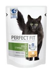 PERFECT FIT для кошек старше 7 лет с курицей 85 г