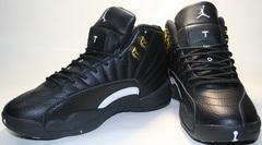 Кроссовки баскетбольные черного цвета nike air jordan 12